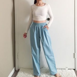AS IS Cabin Creek Blue High Rise Casual Pants.-B3.